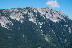 The Zahmer Kaiser Alps in Tyrol Stock Photo