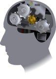 Zahn-Gehirn Lizenzfreie Stockfotos