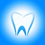 Zahn-Ikone stellt Zahnarzt Icons And Root dar Lizenzfreies Stockbild