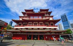 Zahn-Relikt-Tempel in Singapur Lizenzfreie Stockfotografie