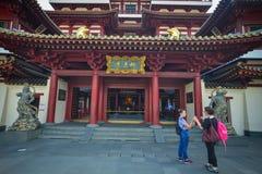 Zahn-Relikt-Tempel in Singapur Stockfoto