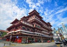 Zahn-Relikt-Tempel in Singapur Lizenzfreie Stockfotos