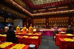 Zahn-Relikt-Tempel in Singapur Stockfotografie