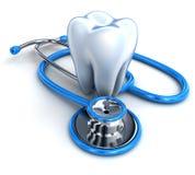 Zahn und Stethoskop vektor abbildung