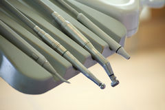 Zahnarzt-Bohrgerät Stockfotos