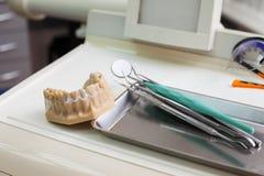 Zahnarzt Instruments Lizenzfreie Stockbilder