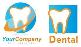 Zahnarzt Logo Lizenzfreies Stockfoto