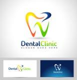 Zahnarzt Logo Lizenzfreies Stockbild
