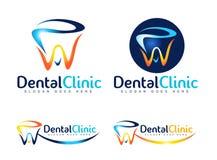 Zahnarzt Logo Lizenzfreie Stockbilder