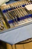Zahnarzt Tools lizenzfreie stockbilder
