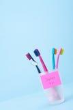 Zahnarztbesuchsanzeige Lizenzfreie Stockbilder