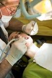 Zahnarztfunktion stockfotografie
