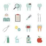 Zahnarztikone Stockfotografie