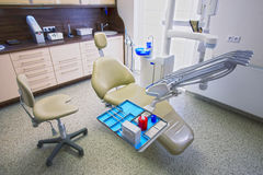 Zahnarztkrankenwagen Stockbilder