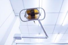 Zahnarztlampe Stockfoto