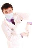 Zahnarztmann. stockbild