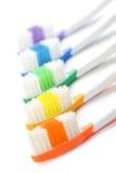 Zahnbürsten stockfotografie