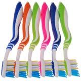 Zahnbürsten (Beschneidungspfad) Lizenzfreies Stockfoto