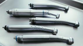 Zahnheilkundeausrüstungszahn-Gesundheitswesenturbine stockbild