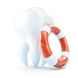 Zahnhilfenleben-Boje Stockfotos