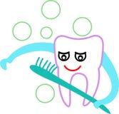 Zahnkarikatur lizenzfreies stockfoto