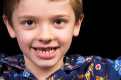 Zahnlos stockfoto