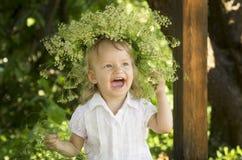 Zahnlos Lächeln Stockfoto