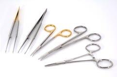 Zahnmedizinisch-medizinische Instrumente Lizenzfreie Stockfotos
