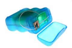 Zahnmedizinische Glasschlacke lizenzfreie stockfotos