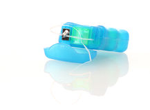Zahnmedizinische Glasschlacke stockfotografie