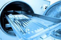 Zahnmedizinische Hilfsmittel Lizenzfreies Stockbild