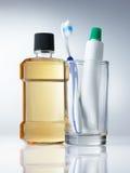 Zahnmedizinische Hygiene Stockfotos