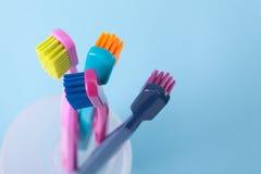 Zahnmedizinische Hygiene Stockfoto
