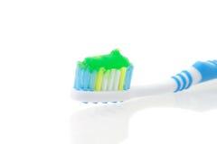Zahnmedizinische Hygiene der Zahnbürste Lizenzfreie Stockfotografie