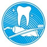 Zahnmedizinische Ikone Lizenzfreies Stockbild