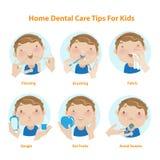 Zahnmedizinische Kinder Stockfotografie
