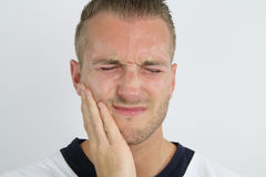 Zahnmedizinische Schmerz stockbilder