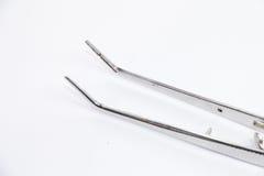 Zahnmedizinische Zange lizenzfreies stockfoto