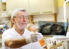 Zahnmedizinischer Besuch Lizenzfreies Stockbild