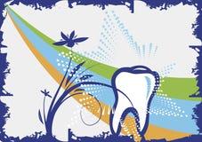 Zahnmedizinischer Hintergrund Lizenzfreie Stockbilder
