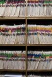 Zahnmedizinischer oder Krankenblatt-Raum Lizenzfreies Stockfoto
