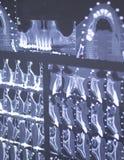 Zahnmedizinischer Röntgenstrahlscan auf Zuschauer in der Zahnarztklinik Stockbilder