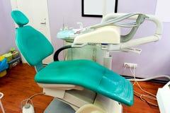 Zahnmedizinischer Raum stockbild