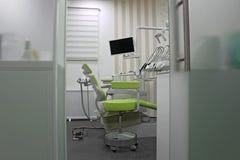 Zahnmedizinischer Stuhl Lizenzfreies Stockfoto