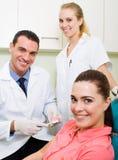 Zahnmedizinisches Büro Stockbilder