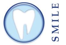 Zahnmedizinisches molares Zahn-Lächeln Lizenzfreie Stockfotos