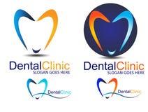 Zahnmedizinisches Zeichen Stockbild