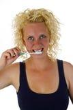 Zahnpflege lizenzfreie stockbilder