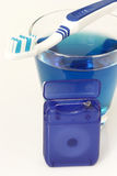 Zahnpflege lizenzfreies stockfoto