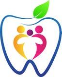 Zahnpflege der Familie Lizenzfreie Stockfotos